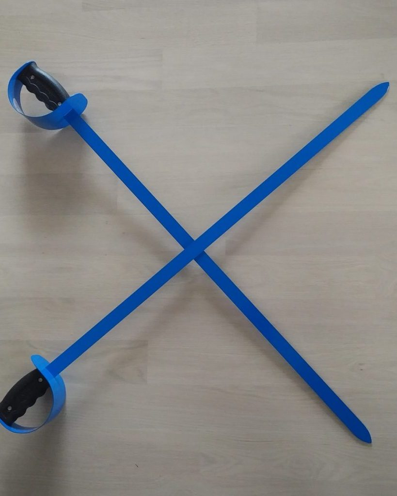Blue Cross Highland Dancing Swords Forever Tartan