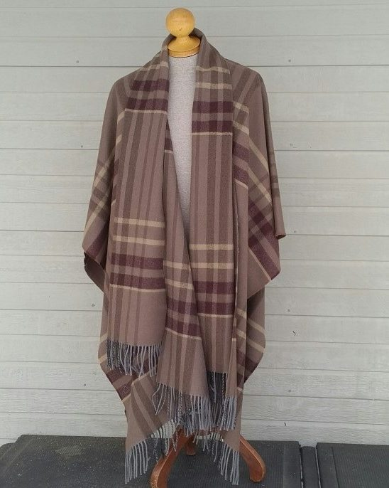 Mist and Stone Highland Blanket Cape Forever Tartan