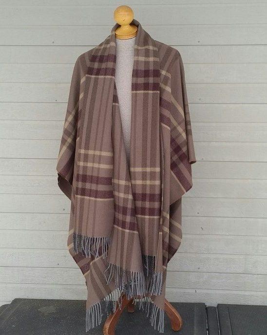 Mist and Stone Highland Blanket Cape Forever Tartan