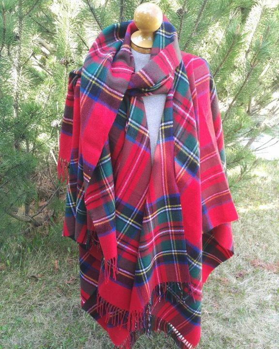 Royal Steward Highland Cape Forever Tartan