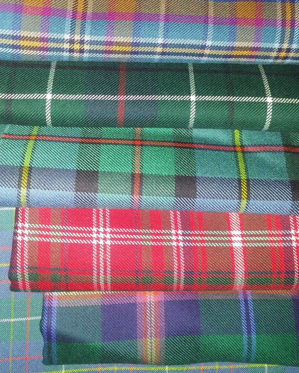 Tartan Fabric Variety Forever Tartan